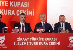 Ziraat Türkiye Kupasında kura çekim yapıldı İşte devlerin rakipleri...