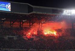 Bernabeu'da Galatasaray'a meşale operasyonu