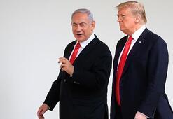 Trumptan Netanyahunun Beyaz Saray kulisine rest
