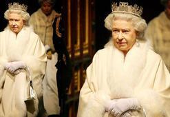 Kraliçe de kürkten vazgeçti