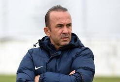 Mehmet Özdilek: Beşiktaş maçını kazanarak gündem oluşturmak istiyoruz