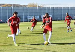 Sivasspor, Konyaspor maçı hazırlıklarını sürdürdü