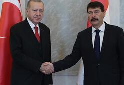 Cumhurbaşkanı Erdoğan, Macaristanda resmi törenle karşılandı