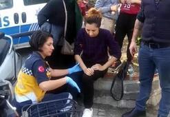 Manisa'da hamile Azeri kadın, kazada yaralandı