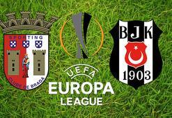 Avrupa Liginde Beşiktaşın rakibi Braga Maç saat kaçta hangi kanalda