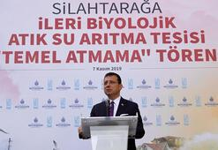 İBB Başkanı İmamoğlu, Temel atmama töreninde konuştu