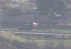 Rus birliklerinin Kamışlıdaki devriyeleri görüntülendi