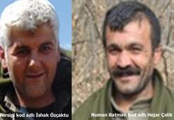 Son dakika | Terör örgütü PKK'ya üst düzey darbe O iki terörist öldürüldü