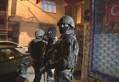 İstanbulda terör operasyonu Çok sayıda gözaltı var