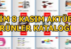 BİM 8 Kasım aktüel ürünler kataloğu BİM 8 Kasım indirimli ürünler listesi