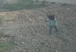 Paspaslı hırsız kamerada