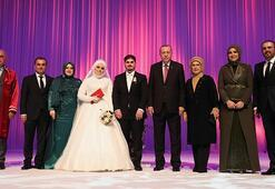 Cumhurbaşkanı Erdoğan, Mahir Ünalın kızının nikahına katıldı