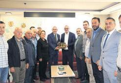 Zeytin üreticilerine Ergün'den destek