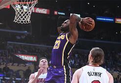 Lakerstan üst üste 7. galibiyet: 95-80