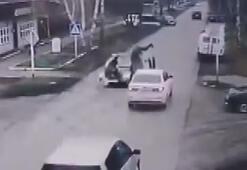 Rusyada sarhoş sürücü yaşlılara çarptı