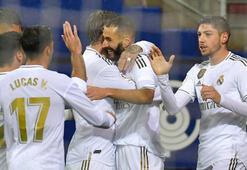 Real Madrid, Eibarı gole boğdu Benzema...