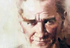 Atatürk'ü resimleriyle anıyorlar