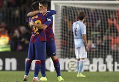 Lionel Messi, Barcelonayı liderlik koltuğunda tuttu