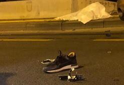Çankayada lastik değiştiren 2 kişiye otomobil çarptı