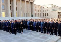 Atatürk, TBMMde törenle anıldı