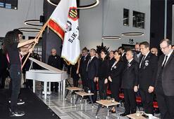 Beşiktaş Başkanı Ahmet Nur Çebi, Atatürkü anma törenine katıldı