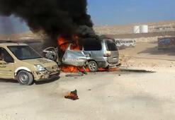 El Babda bomba yüklü araç patladı