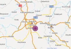 Ankarada deprem mi oldu 10 Kasım son depremler listesi
