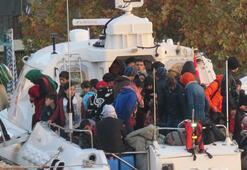 Çanakkalede 97 kaçak göçmen yakalandı