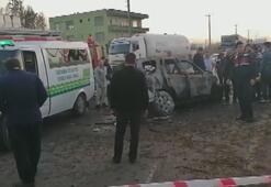 Samsunda feci kaza 1 kişi hayatını kaybetti