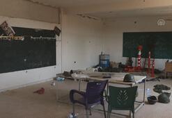 Okulu terörist karargahına çevirdiler