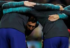 Messi ve Ansu Fati birlikte çalıştılar