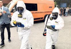 Cenazede maske ve gaz ölçümü