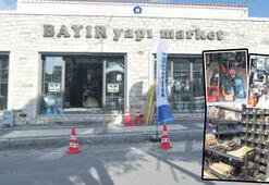 Alaçatı'daki Bayır yapı market yenilendi