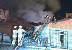 İstanbulda gecekondu yangını