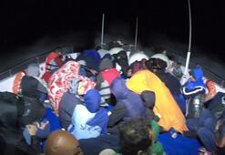 Çanakkalede 40ı çocuk, 84 kaçak göçmen yakalandı