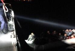 Bodrum ve Datçada açıklarında 125 kaçak göçmen yakalandı