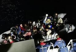 Menderes, Karaburun ve Çeşmede 286 kaçak göçmen yakalandı