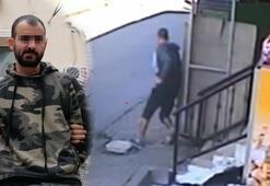 Başakşehirdeki cinayetin zanlısının kamera görüntüleri ortaya çıktı