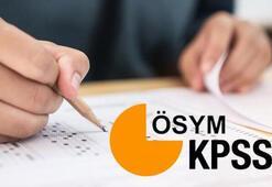 KPSS (ortaöğretim, önlisasn, lisans) başvuruları ne zaman başlıyor Sınav ne zaman