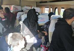 Çanakkale'de 45 kaçak göçmen yakalandı