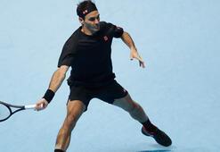 Federer ATP Finallerinde siftah yaptı