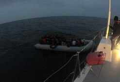 Çanakkalede 70 düzensiz göçmen yakalandı