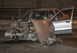 Babasının arabasıyla kaza yaptı... Görünce büyük şok yaşadı