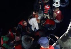 Edirnede 69 kaçak göçmen yakalandı