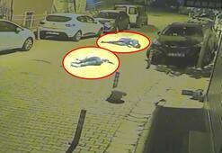 Yer: İstanbul... Metrelerce havalanan gençler yere savrularak yaralandı