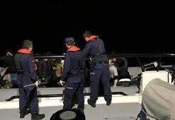 Çeşmede 68 kaçak göçmen yakalandı
