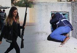 350 polisle operasyon 1i kadın 4 kişi gözaltına alındı