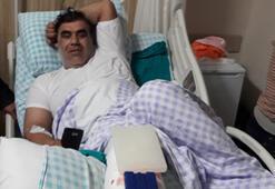 Suriye'den ateş açılınca paniğe kapıldı, ayağını kırdı