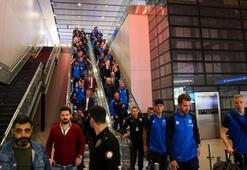 A Milli Takımın rakibi İzlanda, İstanbula geldi