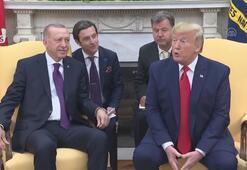 ABDde Erdoğan - Trump görüşmesi sona erdi